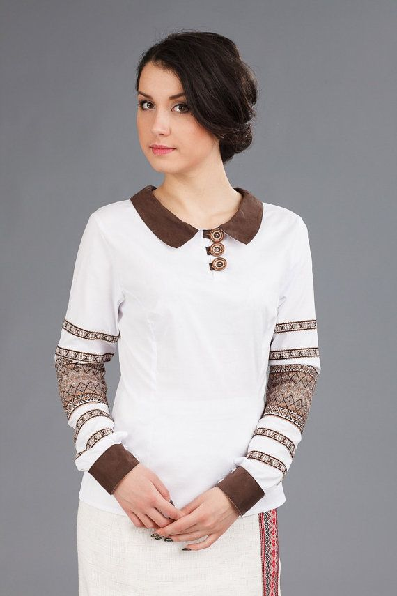 Ukrainian embroidery. Women's shirts. by LAVKASUVENIROV on Etsy