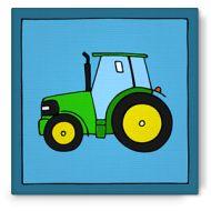 Bibado.nl - kinderschilderij traktor john deere, creator: Arjan Ceelen