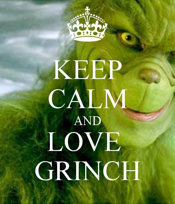 KEEP CALM AND LOVE GRINCH - KEEP CALM AND CARRY ON Image Generator