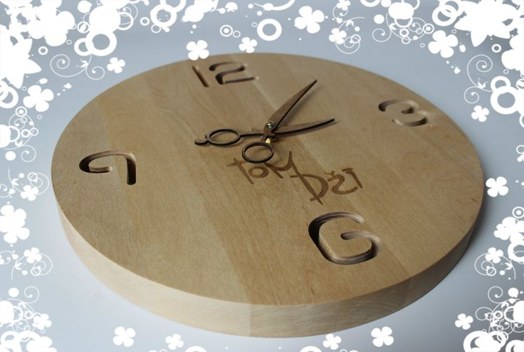 Special clock for special place! :)