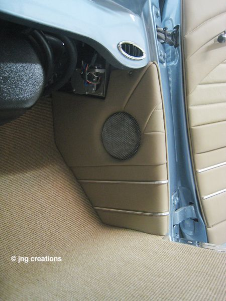 Carpet complete in the 1949 Chevy Pickup