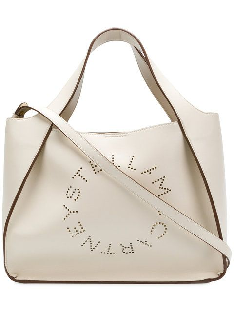 Shop Stella McCartney Stella Logo tote bag   Bags in 2018 ... 713b4d8170