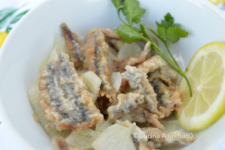 Le alici fritte marinate sfumante nell'aceto sono l'antipasto perfetto per gli…