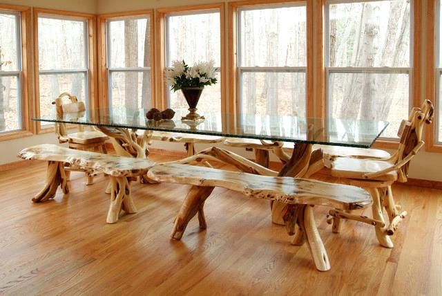 Tree Branch Furniture Designs Tree Branch Furniture Diy Hand Crafted Art Furniture Made From Home Grow Rustic Dining Room Unique Dining Tables Rustic Furniture