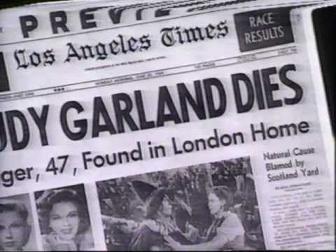 """Judy Garland was found dead in the bathroom of her rented house in Chelsea, London on June 22, 1969 by her then newly wed husband Mickey Deans. She was 47 years old and had a career that spanned 45 of those 47 years. Her cause of death was established as being """"an incautious self-overdosage"""" of barbiturates (what all the cool kids were doing back then)."""