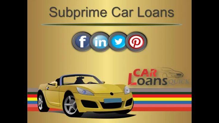 subprime auto loans companies