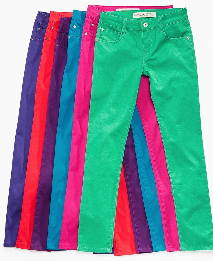 Colors galore! Epic Threads Kids Jeans, Girls Skinny Color Jeans - Macy's $21.24