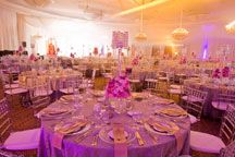 Spot On Events: Spot on lighting and décor specialise in Decorative Lighting, Stage Decor, Draping, Table Layouts, Weddings, Cocktail Events and Festivals.  http://www.thebridalcode.com/Wedding-Company/Spot-On-Events.shtml