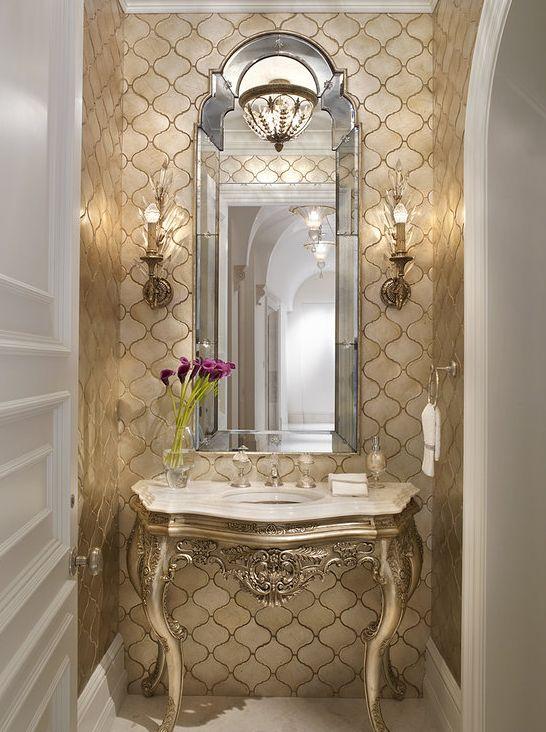 Best Gold Bathroom Ideas On Pinterest Grey Bathroom Vanity - Gold bathroom light fixtures for bathroom decor ideas