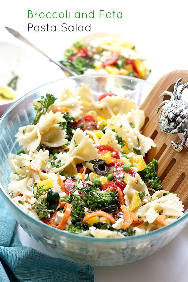 Velvety Broccoli And Feta Pasta Recipe — Dishmaps