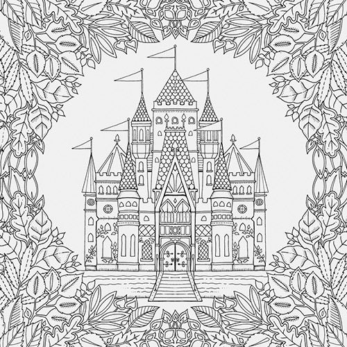 This Stunning New Colouring Book By Johanna Basford Takes The Reader On An Inky Quest Through Enchanted Forest To Discover What Lies In