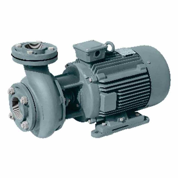 Oswal Monoblock Pump OCP-03 HH 1PH (0.5HP), High operating efficiency that results in lower power consumption, Power Rating 0.5 HP and 0.37 KW, Pressure 1 Bar , Head Range 8-12 Meter, Flow Range 190-290 LPM, Packaging Unit-1, Warranty- As per manufacturer's warranty policy.