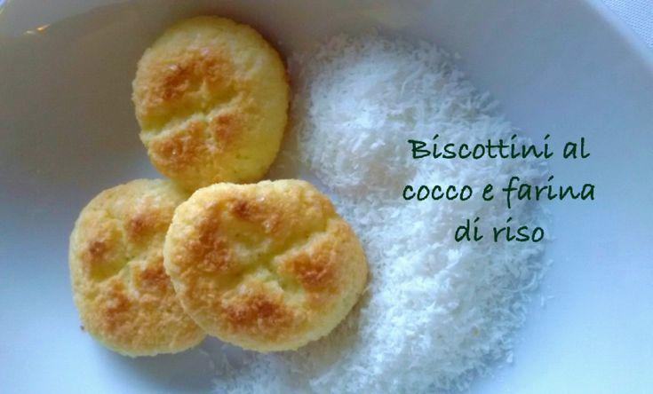 Biscottini+al+cocco+e+farina+di+riso+e+#graziemamma