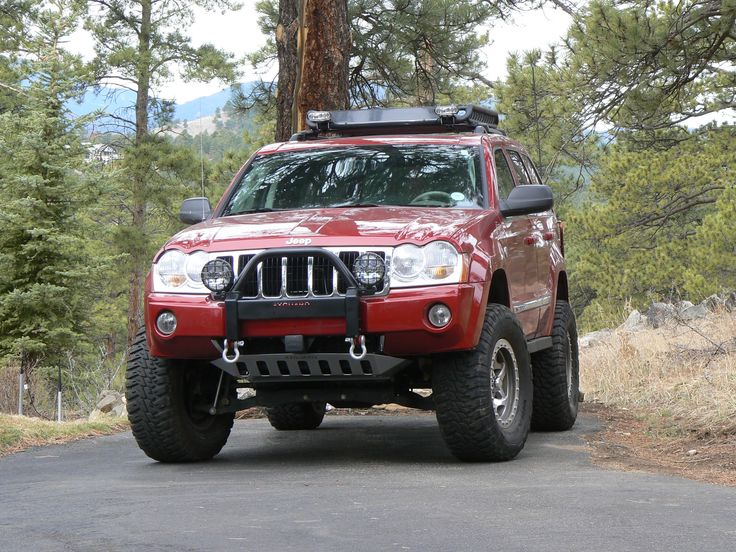 Jeep Grand Cherokee WK push bar