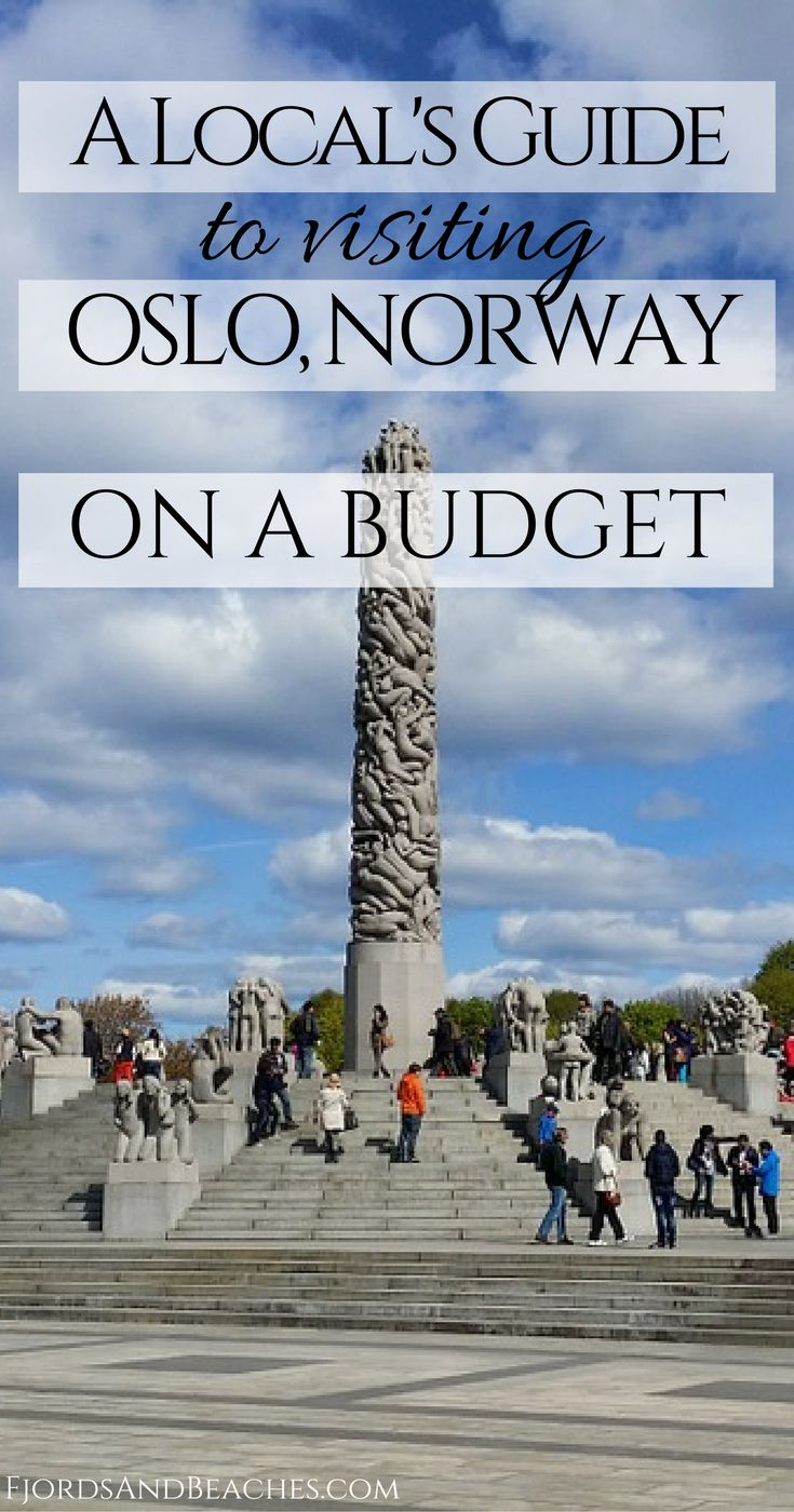 Visiting Oslo on a budget, local Oslo budget tips. How to visit Oslo on a budget. Oslo, Norway.