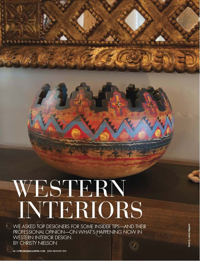 Top Designers Insider Tips On The Current Trends In Western Interior Design