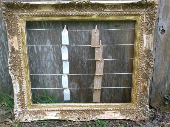 Seating Chart - Gatsby Wedding Seating Display - Shabby Chic Escort Board - Rustic Wedding Seating Display