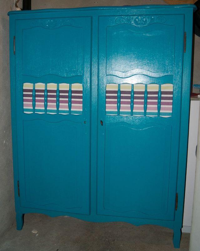 Armoire b b relook e relooking mobilier pinterest - Relooker une armoire ikea ...