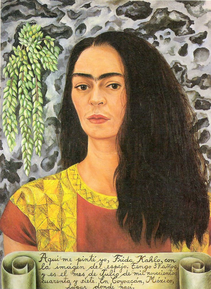 Frida had a revolutionary mind, through her works and her life style she symbolized the ambition and energy of the revolution, it's rejection of limitations. Frida is the representation of the mad artist, whose madness causes the birth of freedom.