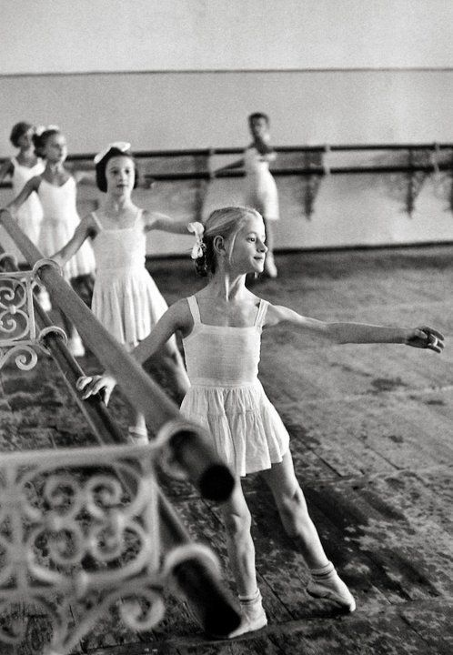 Russian class at the barre. Look at those legs...