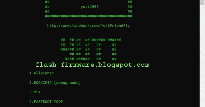 DownloadChina Tablet Firmware backup Tool Feature: Allwinners