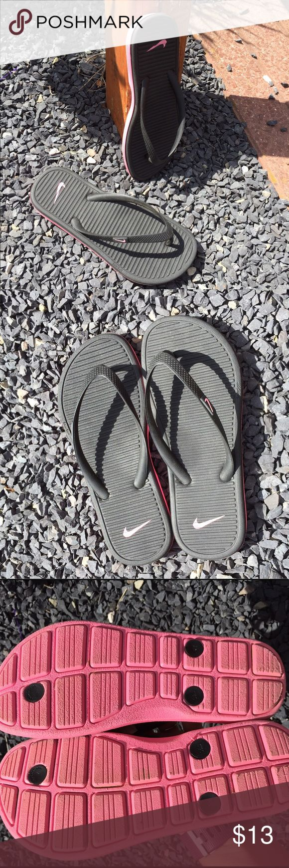 Nike Youth Girls Flip Flops Size 4 Size Youth 4. Gently preowned. Be sure to view the other items in our closet. We offer  women's, Mens and kids items in a variety of sizes. Bundle and save!! Thank you for viewing our item!! Nike Shoes Sandals & Flip Flops