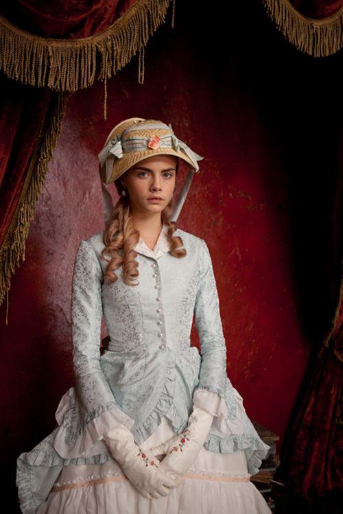 Cara Delevingne featured in the 2012 movie Anna Karenina as Princess Sorokina.