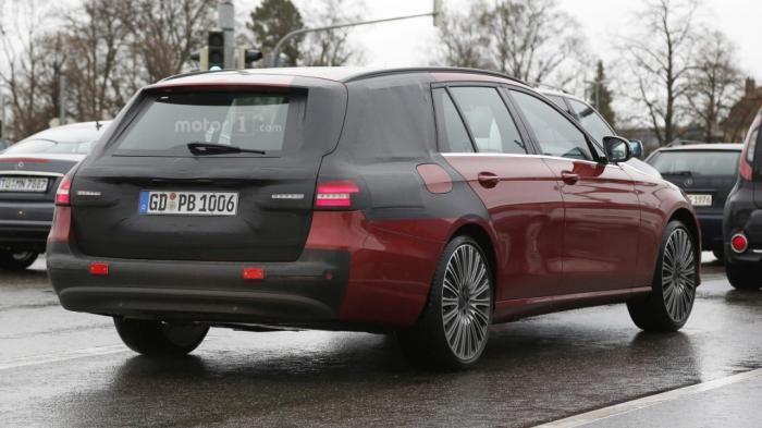 2017 #Mercedes #EClass Estate spied almost undisguised
