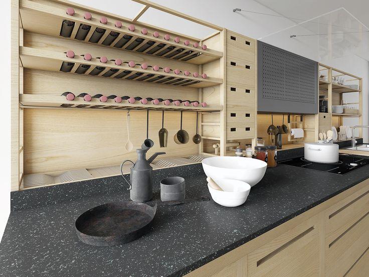 Valcucine Kitchen | Kitchen accessories, Kitchens and Vintage interiors