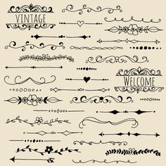 hand lettering text borders - Google Search