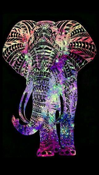 Cool Colorful Wallpapers Similar To Iphone X Rainbow Hipster Elephant Cute Wallpapers Cocoppa