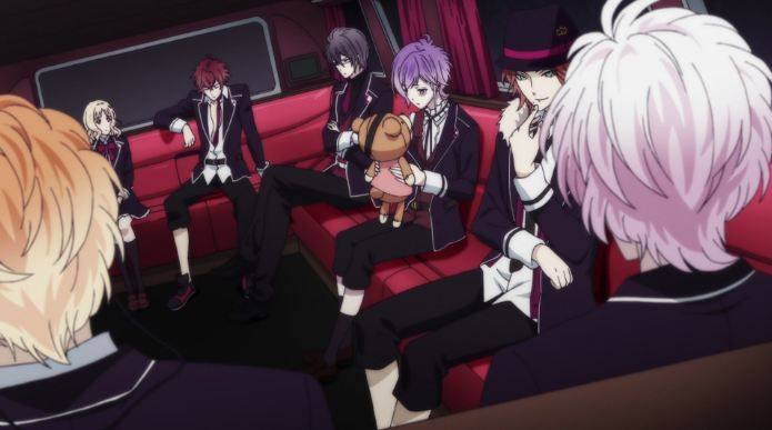 Diabolik Lovers More,Blood Artwork