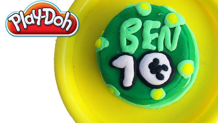 Oyun Hamuru ile Ben 10 Pasta Yapımı