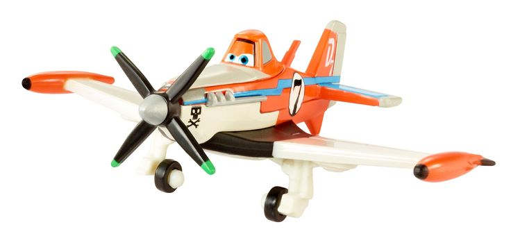 Disney Planes Fire and Rescue Supercharged Dusty Die-cast Vehicle 3.88