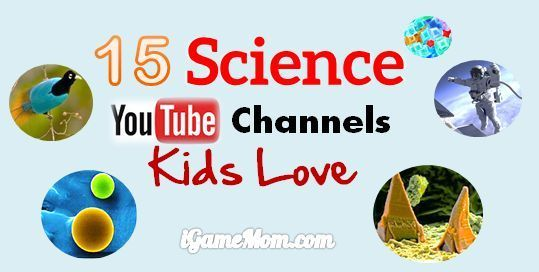 15 fun science YouTube channels for kids, explaining science phenomenon, answeri... 2