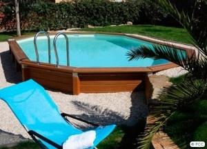 piscine semi creusée