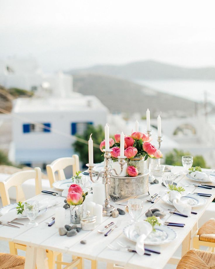 """57 Likes, 2 Comments - MBW • Events, Vasso Vantali (@mbw_events) on Instagram: """"Peonies and fringes! A styled shoot overlooking the Aegean Sea with a great team! Photography by…"""""""