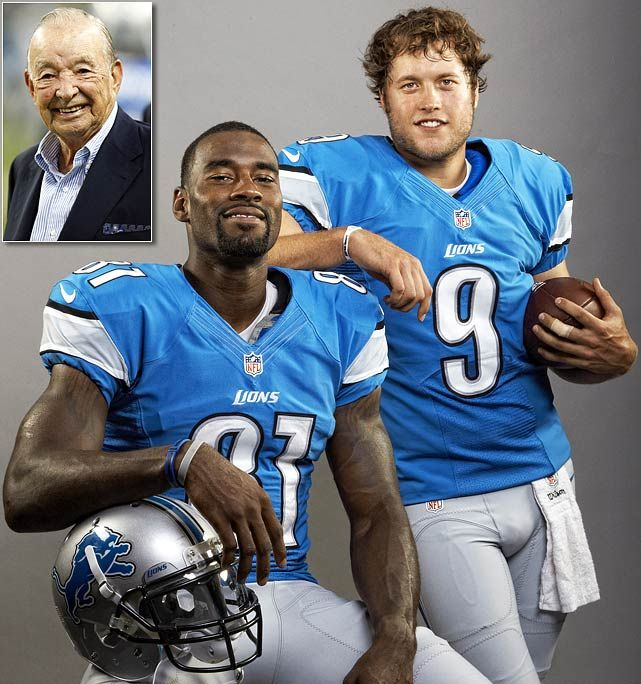 Stafford and Johnson - Detroit Lions