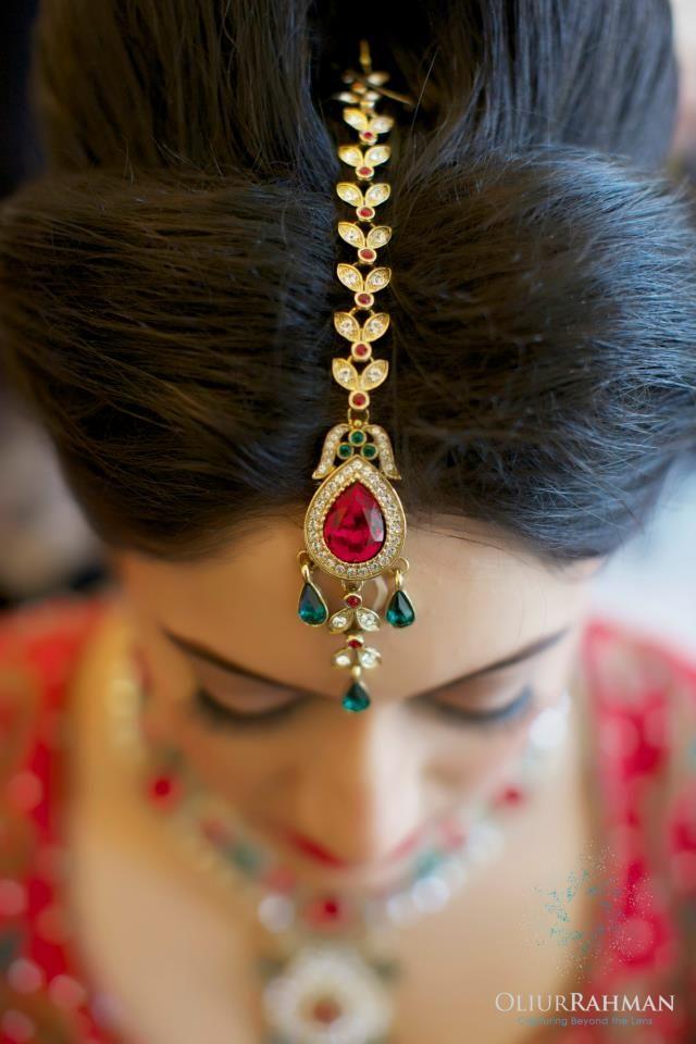bridal Maang Tika jewellery