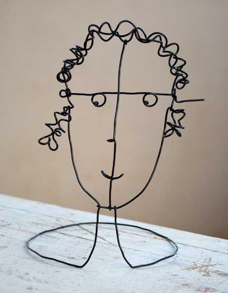 Fifi Brindacier... / Wire girl.