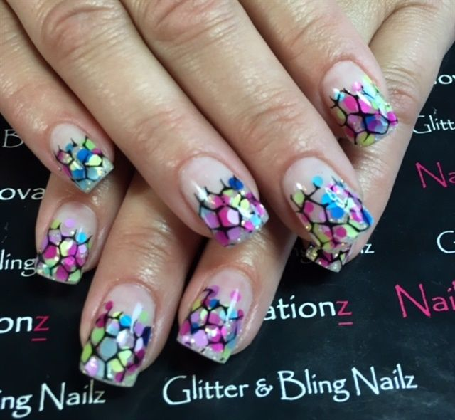 Day 235: Glitter & Bling Nail Art - - NAILS Magazine