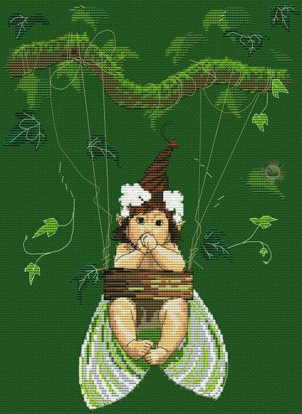 1168 best images about Cross stitch fairies on Pinterest