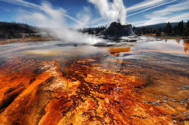 motorcycles in yellowstone national park   Yellowstone and Glacier National Park Gallery - America West ...