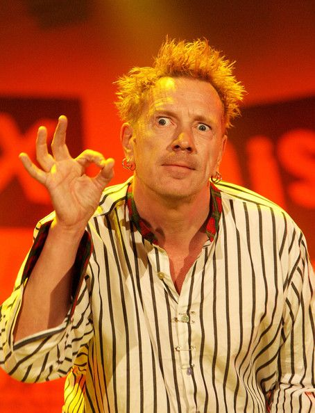 (UK TABLOID NEWSPAPERS OUT)  John Lydon of the Sex Pistols performs on the Main Stage during Day 2 of the Isle Of Wight Festival 2008 on June 14, 2008 in Newport (Isle of Wight), England.