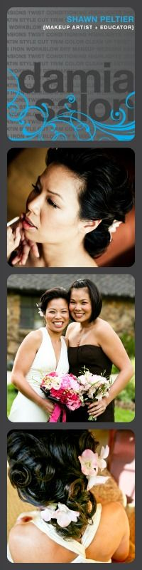 bridal - makeup & hair by Shawn Peltier for Damia Salon    #sfbridal makeup & hair  #sf wedding makeup & hair