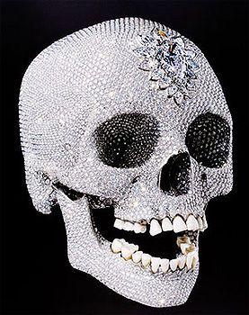 Дэмиен Херст - Бриллиантовый череп