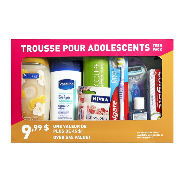 Shoppers Drug Mart $9.99 Teen Pack