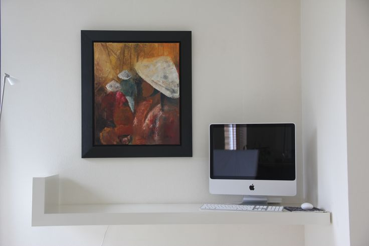 Oplossing voor computer in de woonkamer.