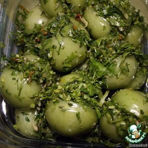 """Зеленые помидоры """"По-грузински"""""""