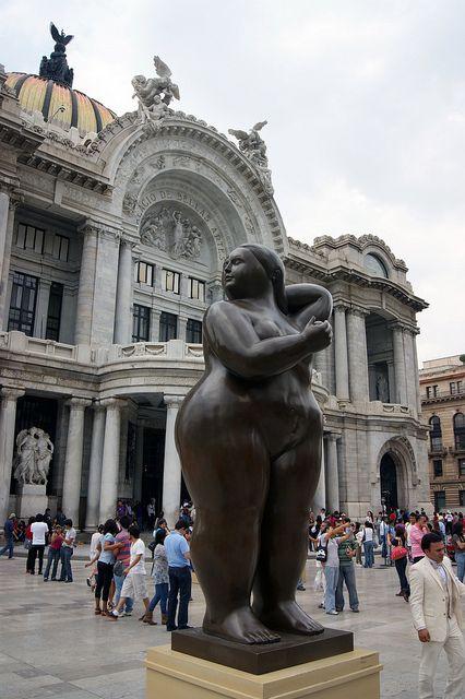 Botero @ Bellas Artes, Mexico City